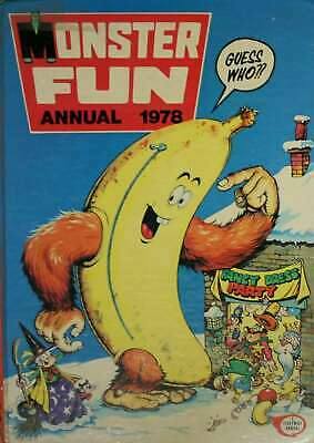 No Author., MONSTER FUN ANNUAL 1978., Hardcover, Very Good Book