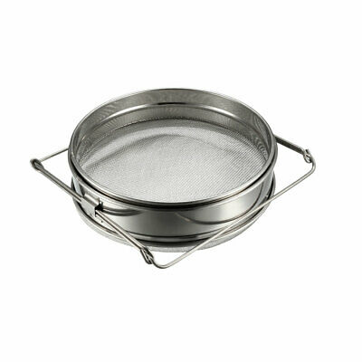 Honey Strainer Filter Double Sieve Stainless Steel Beekeeping Equipment