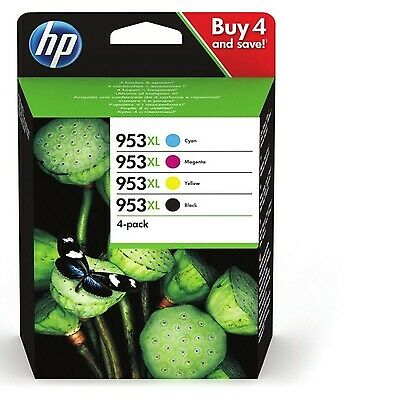 Genuine HP 953 / 953XL Ink Cartridges For Officejet Pro 8210  Fast UK Shipping!