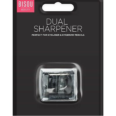 Dual 2 Size Make Up Pencil Sharpener Cosmetic Eye Lip Liner Pen Eyebrow Eyeliner