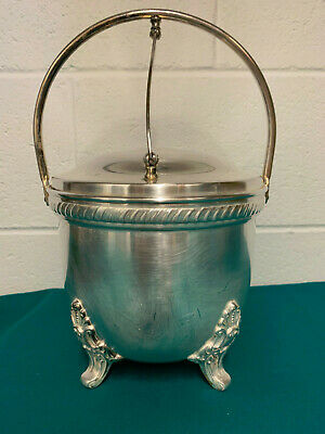 Epca Bristol Silverplate Footed Ice Bucket By Pool 47