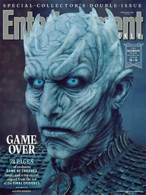 ENTERTAINMENT WEEKLY Magazine 2019 Game of Thrones - #16 - The Night King