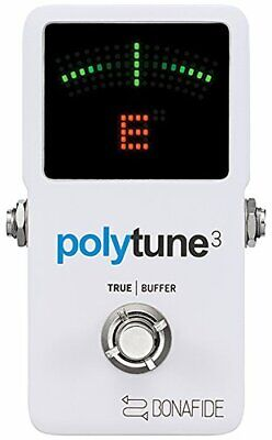 tc electronic PolyTune 3 Guitar Holistic Tuner Built-in Buffer Japa From japan