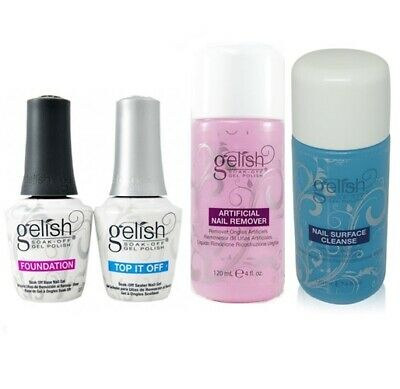 Gelish Essentials - Foundation, Top, Ph Bond, Pro Bond, Vitagel