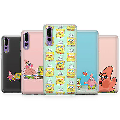 Sponge Bob, funny gift phone case cover for huawei