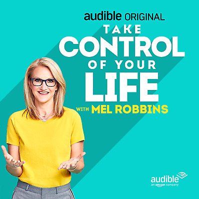 Take Control of Your Life By: Mel Robbins (Audiobook MP3 & workbook)