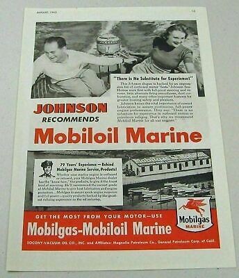 Vintage 1940 Magazine Ad Mobiloil Special Use For The Best Engine Protection Advertising