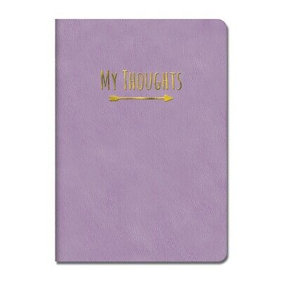 Potentially Purple Leather Journal,  by Orange Circle Studios Corporation