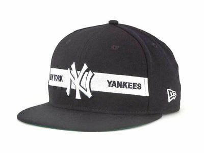half off 201bd 67e7e New York Yankees New Era 9FIFTY Snap Off Snapback Navy White Hat Cap