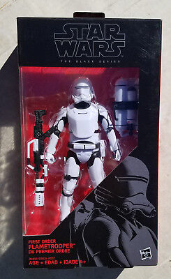 "Star Wars Black Series FLAME TROOPER #16 6"" Action Figure Force Awakens TFA New"