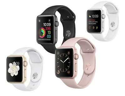 Apple Watch Series 2 38mm 42mm Aluminum GPS Space Gray Silver Gold Rose Sport