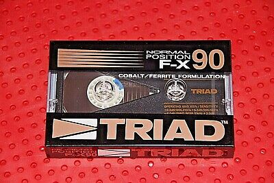 Triad  F-X   90  Blank Cassette Tape (Sealed)