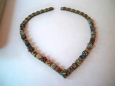 Beautiful Sweet Romance Victorian Style Slide Necklace By Shelly Cooper