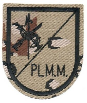 parche LEGION PLMM DESIERTO spain patch