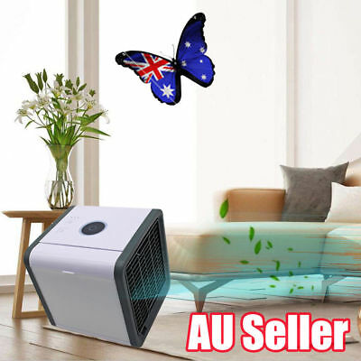 Portable Mini Air Conditioner Cool Cooling For Bedroom Arctic Air Cooler Fan AU