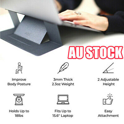 Comfortable Invisible Laptop Stand Seamlessly Integrated with Your Laptop CO