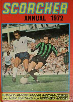 , Scorcher Annual 1972, Hardcover, Very Good Book