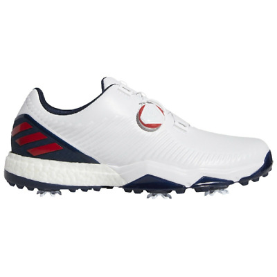 huge discount 3c323 d77df adidas Golf 2019 Adipower 4orged BOA Golf Shoes (Navy White Red)