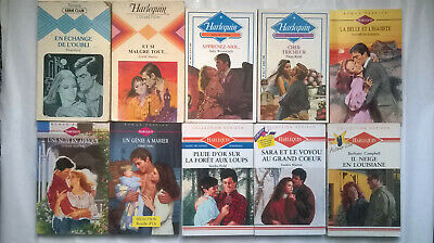 Lot 18 Livres + 1 KDO  HARLEQUIN HORIZON - ROUGE PASSION & Divers