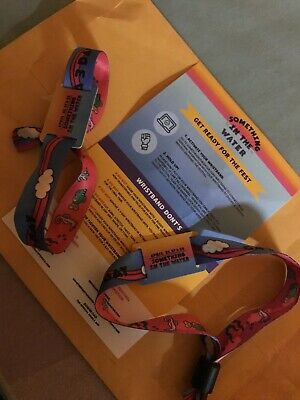 Something in the Water Festival Wristbands (2) Pharrell's 3Day Festival SOLD OUT