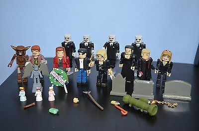 Buffy the Vampire Slayer PALZ Block Mini Figures Lot of 12 w Accessories LOOSE