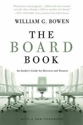 NEW The Board Book By William G. Bowen Paperback Free Shipping