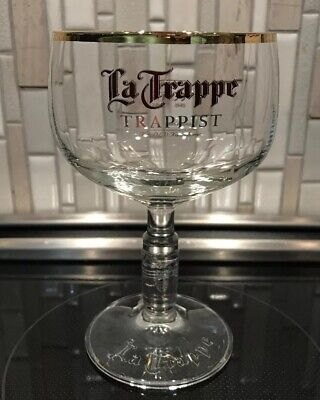 La Trappe, De Koningshoeven Brewery, Dutch Trappist Craft Beer Glass Chalice