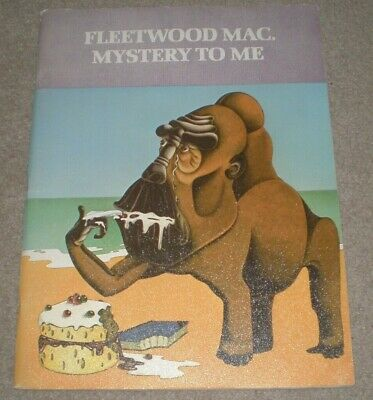 FLEETWOOD MAC Mystery To Me SONGBOOK 1974 Vintage SONG BOOK Christine McVie