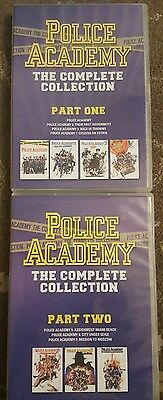 Police Academy Complete Collection 1 - 7 Dvd 7 Films
