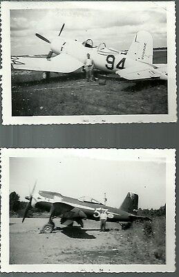 """LOT OF 3 LOT #17 RACING AIRPLANES 4/"""" X 6/"""" BLACK /& WHITE PHOTOGRAPHS"""
