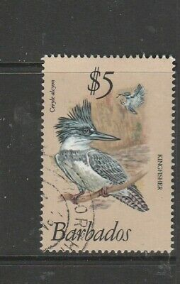 Barbados 1979/83 Bird defs $5 VFU SG 637