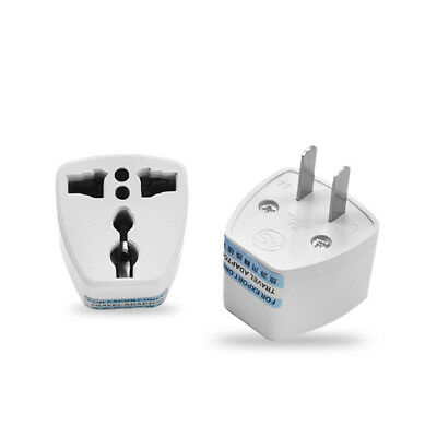 Europe Euro UK to USA US AC Power Wall Plug Converter Travel Adapter Charger ER