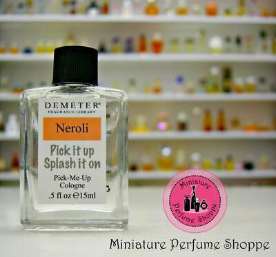 NEROLI - NEW! DEMETER FRAGRANCE LIBRARY Cologne Splash 15 ml Travel Mini