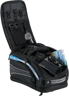 Nelson-Rigg CL2015MG Journey Sport - Magnetic Mount Tank Bag - Black