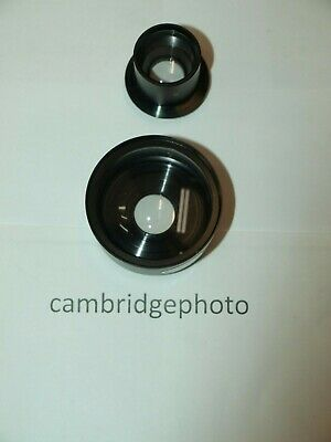 NEW OLD STOCK WIDE ANGLE LENS ATTACHMENT for YASHICA & ROLLEIFLEX TWIN LENS REFL