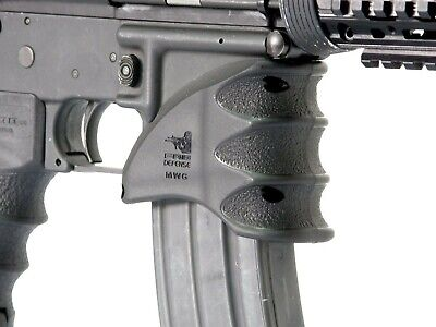 2Pack MWG Tactical MagWell Ergonomic Foregrip Finger Grooves Handle Grip *