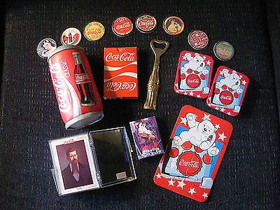 Large Collection of Coca-Cola Memorabilia (over 75 items--see multiple pictures)