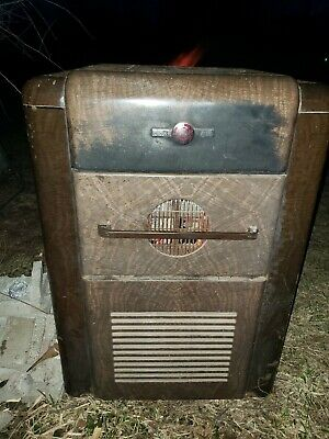 Antique Glow Boy, Cast Iron Wood Burning Stove, Parlor Stove, Furnace Heater!