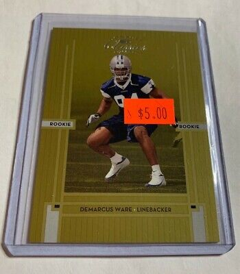 6691f4d7737 2005 ABSOLUTE SPECTRUM Demarcus Ware Rookie /100 Cowboys - $19.40 ...