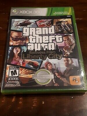 Grand Theft Auto: Episodes From Liberty City (Microsoft Xbox 360, 2009) Sealed