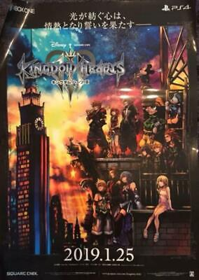 Kingdom Hearts Iii Kh3 Promotional Poster
