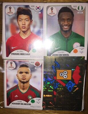 ** Panini FIFA World Cup Russia 2018 Stickers   ALL 682 STICKERS
