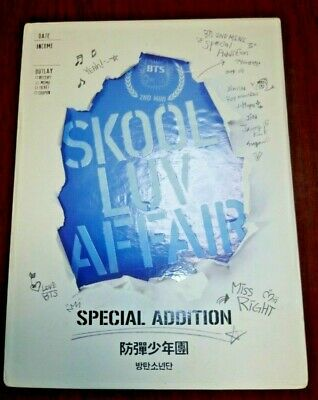 BTS Skool Luv Affair Special Addition [ DVD and booklet only ] K-POP Used