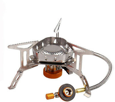 Sagafly Portable Camping Gas Stove Mini, 3500W Windproof Backpacking Stove with
