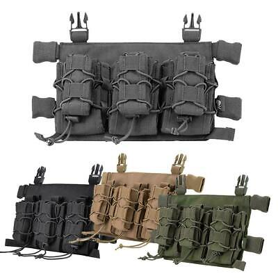 Viper VX Buckle Up Magazine QD Chest Rig Taco Style Pouch Airsoft VMRIGVXBU