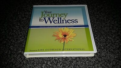 Your Journey To Wellness 6 x CD Life Outreach International Self Help Wellbeing