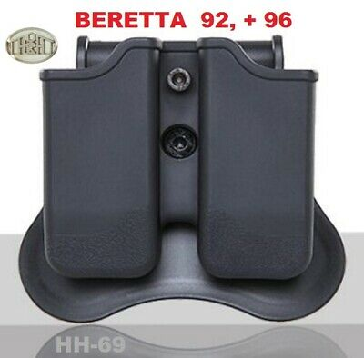 SIX PACK Black Magazine Pouch for WALTHER P22 Magazines Federal