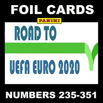 Panini Adrenalyn ROAD TO EURO 2020 FANS FAVOURITE / RISING STAR