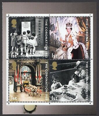 GB 2003  CORONATION  BLOCK  FROM  BOOKLET DX31  SG 2369b  MNH