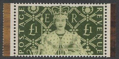 Gb 2003  Coronation Anniversary £1  Two Band  Booklet Stamp  Sg 2380  Mnh Cv £60